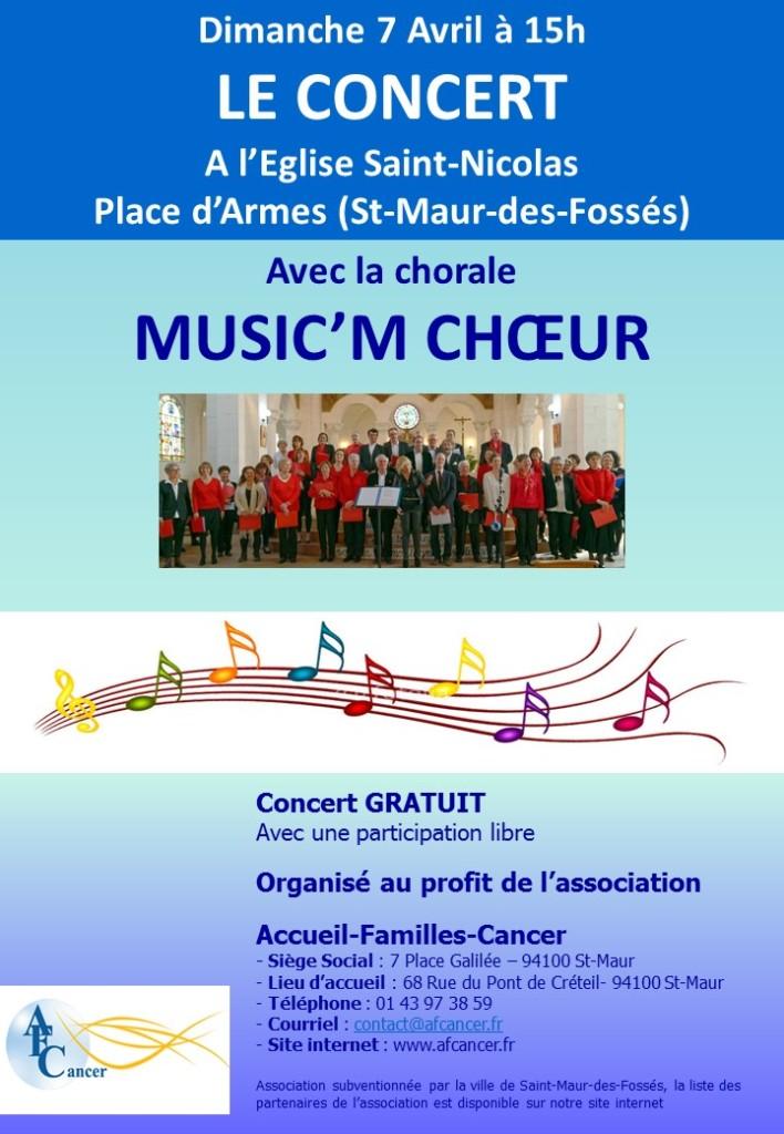Affiche concert 7 Avril 2019